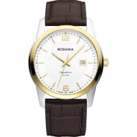 Mens Rodania Swiss Vancouver Gents strap Watch