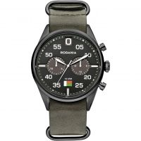 Mens Rodania Madagascar Gents strap Chronograph Watch