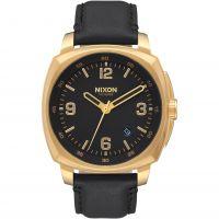 Unisex Nixon The Charger Leder Uhr
