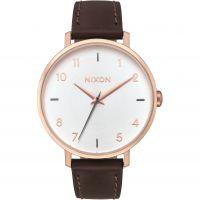 Unisex Nixon The Arrow Leder Uhr