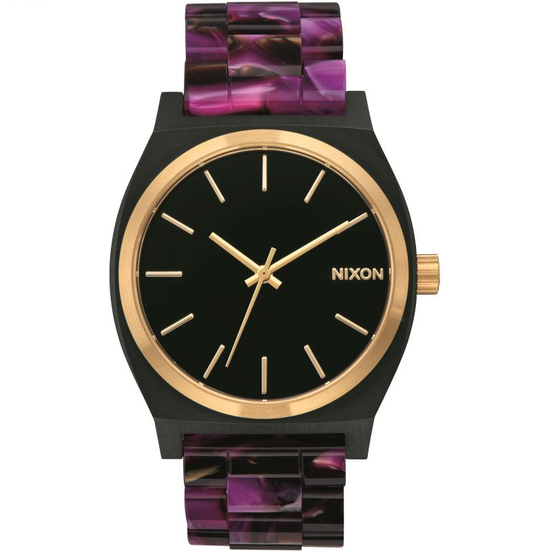 Ladies Nixon The Time Teller Acetate Watch A327-2484