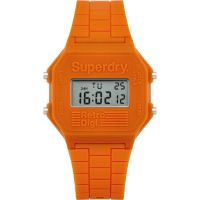 Mens Superdry Retro Digi Alarm Watch