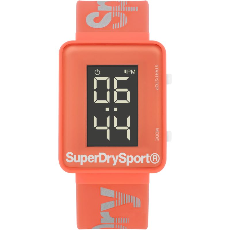 Unisex Superdry Sprint Digi Chronograph Watch SYL204C