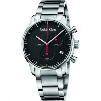 homme Calvin Klein City Polished Chronograph Watch K2G27141