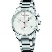 Herren Calvin Klein City Polished Chronograf Uhr