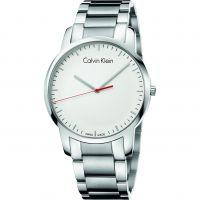Herren Calvin Klein City Polished Uhr