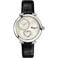 femme Salvatore Ferragamo Cuore Diamond Watch FE2020016
