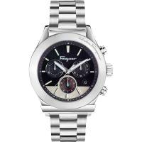 Herren Salvatore Ferragamo 1898 Chronograph Watch FFM080016