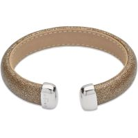 Ladies Unique & Co Stainless Steel Bangle B340GO/19CM