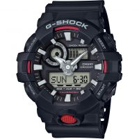homme Casio G-Shock Alarm Chronograph Watch GA-700-1AER