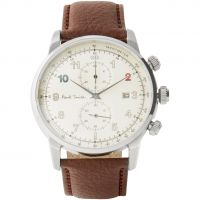 Reloj Cronógrafo para Hombre Paul Smith Block Leather Strap P10141