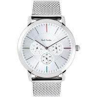 Herren Paul Smith MA multifunktional Maschen Armband Uhren