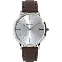 unisexe Paul Smith MA Small Leather Strap Watch P10100