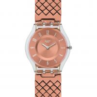 Femmes Swatch Rose Coussin Montre