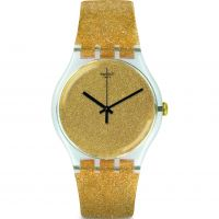Unisexe Swatch Nuit Doree Montre