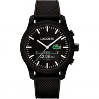 homme Lacoste 12.12 Contact Bluetooth Hybrid Smartwatch Watch 2010881