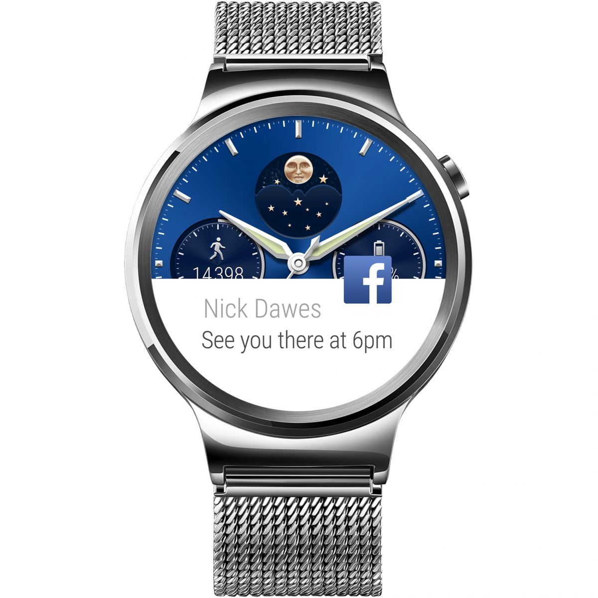 Unisex Huawei W1 Android Wear Bluetooth Smart