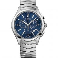 Herren Ebel Wave Chronograph Watch 1216344