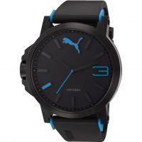 Herren Puma PU10294 ULTRASIZE 50 - black blue Uhr