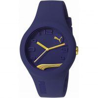 Herren Puma PU10300 FORM - blueberry gold Watch PU103001016
