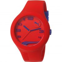 Herren Puma PU10321 FORM XL - red navy Uhr