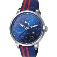Herren Puma PU10364 COOL DOWN - navy red Uhr