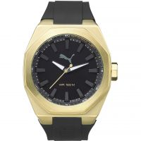Herren Puma PU10405 VICTORY - gold black Uhr