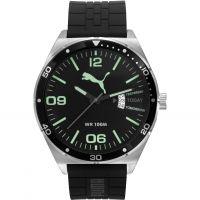 homme Puma PU10415 DAY ESSENTIAL - silver luminous Watch PU104151004