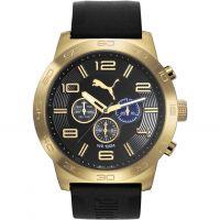 Herren Puma PU10422 DEFINITION - gold black Uhr