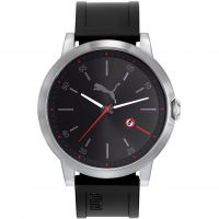 Orologio da Uomo Puma PU10423 LIBERATED - silver black red PU104231001