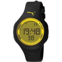 Herren Puma PU91080 - black yellow Wecker Chronograf Uhr