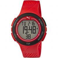 homme Puma PU91121 TOUCH - red black Alarm Chronograph Watch PU911211002