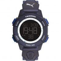 homme Puma PU91127 TRINOMIC - blue white Alarm Chronograph Watch PU911271004