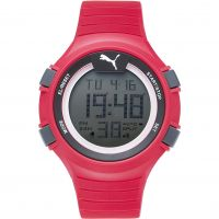 Mens Puma PU91128 FAAS 100 L - red Alarm Chronograph Watch