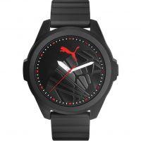 Herren Puma PU91131 GAME - black red sole Uhr