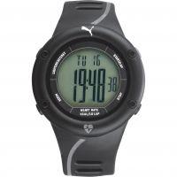 Herren Puma PU91136 CARDIAC 01 - black grey Alarm Chronograph Watch PU911361001