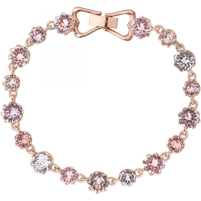 Ladies Ted Baker Rose Gold Plated Chaley Crystal Crown Bracelet SM TBJ1314-24-34SM