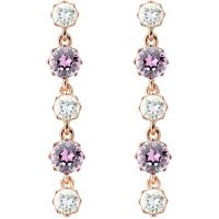 Ladies Ted Baker PVD rose plating Caralee Crystal Crown Long Earring