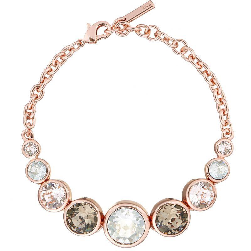 Ladies Karen Millen PVD rose plating Crystal Bracelet KMJ048-24-161