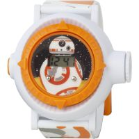 Star Wars BB8 Multi-Projection Kinderenhorloge Wit STAR433