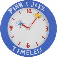 Character Adventure Time Wall Clock Klokhorloge Blauw ADT6