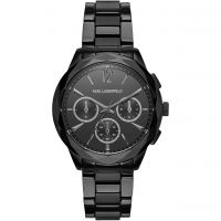 Ladies Karl Lagerfeld Optik Chronograph Watch