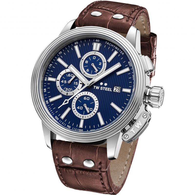 Mens TW Steel Adesso Chronograph 45mm Watch CE7009