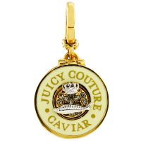 Juicy Couture Dames Caviar Charm PVD verguld Goud WJW57503-712