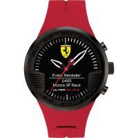 Herren Scuderia Ferrari Connect Hybrid Alarm Watch 0830374