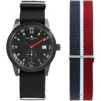 Herren Smart Turnout Town Watch Set Watch STE2/56/W-SET-BLK-RAF