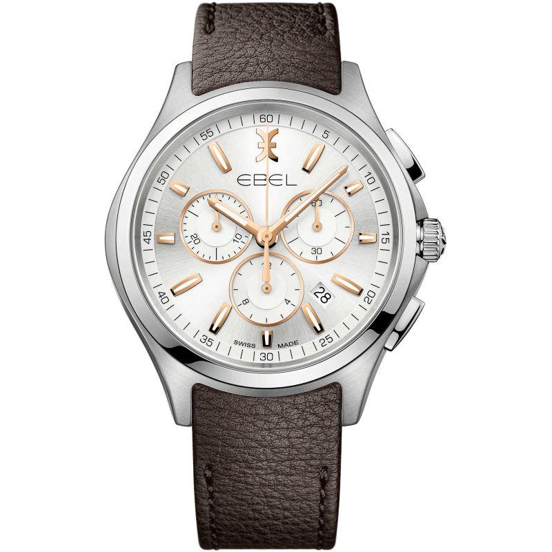 Herren Ebel Wave Chronograph Watch 1216341