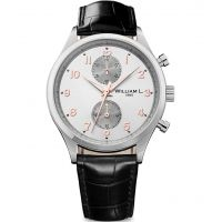 homme William L 1985 Small Chrono Chronograph Watch WLAC02GOCN