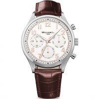 Herren William L 1985 Vintage Kalender Uhren