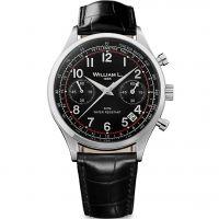 Herren William L 1985 Vintage Chrono Chronograph Watch WLAC01NRCN